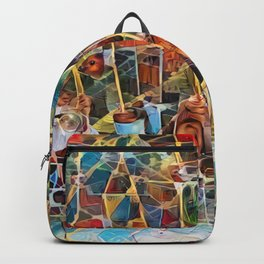 Tensegrity Playground Backpack