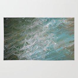 Wavy Mirage Water Marbling Rug