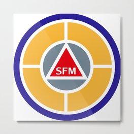Success Factor Modeling logo Metal Print