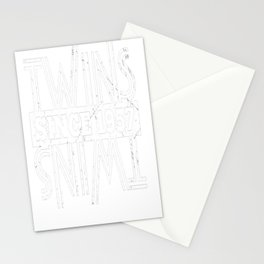 Twins-Since-1957---60th-Birthday-Gifts Stationery Cards