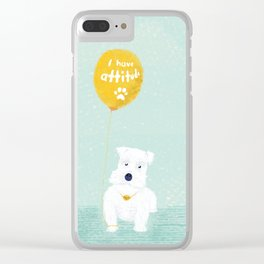 Attitude Clear iPhone Case