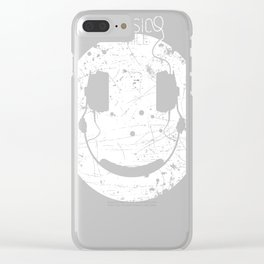 Music Smile V2 Clear iPhone Case