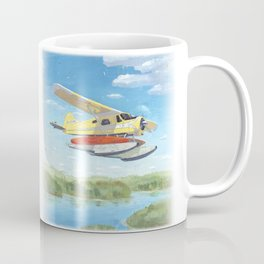 float plane - by phil art guy Coffee Mug