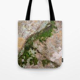 Yin Yang Moss Stone Tote Bag