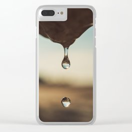 Drop of Spring Clear iPhone Case