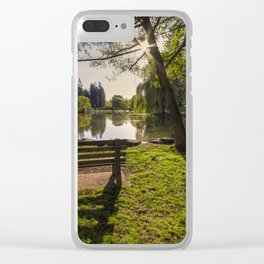 Manito Spring Morning Clear iPhone Case