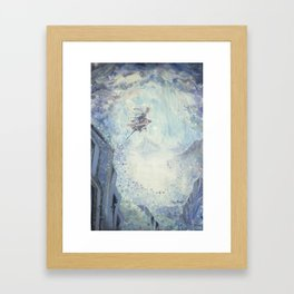 Collapse the Light Framed Art Print