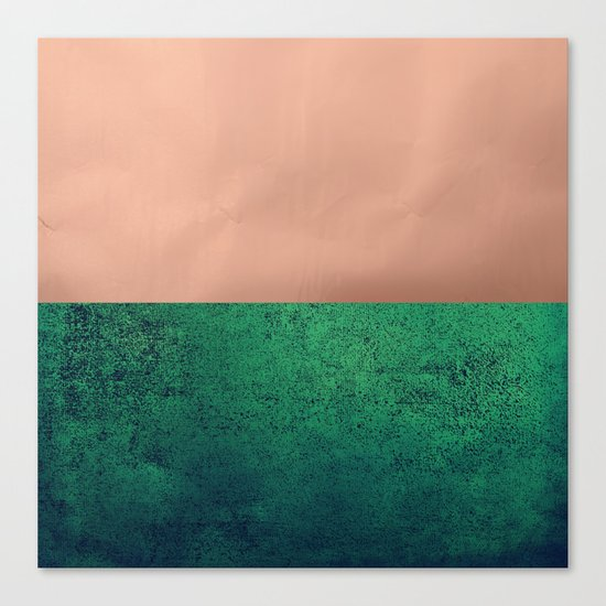 NEW EMOTIONS - LUSH MEADOW Canvas Print