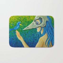 Ava ~ Twin Goddess of Flight Bath Mat