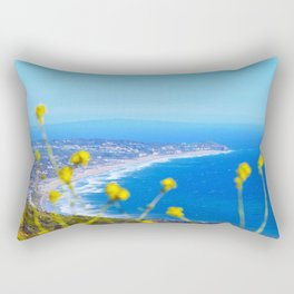 Malibu Flowers Rectangular Pillow