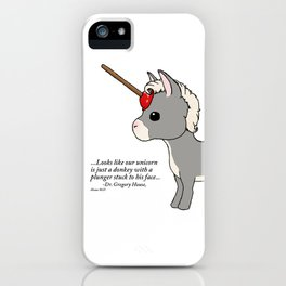 Jerry the Plumber Unicorn iPhone Case