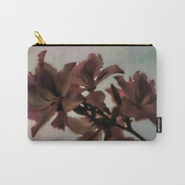 Watercolor Lilies in Pastels Carry-All Pouch
