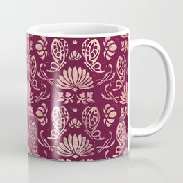 Classic Floral Pattern Coffee Mug