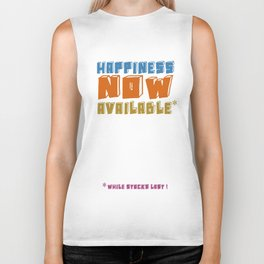 Happiness now available Biker Tank