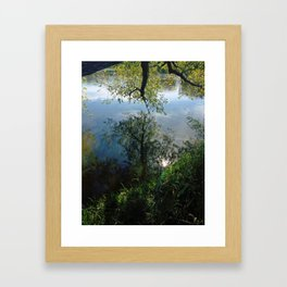 Mystical Mirror Framed Art Print
