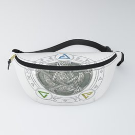 The Witcher Igni Symbol Fanny Pack