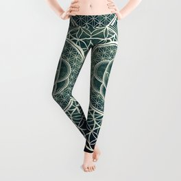Ultra Sacred Geometry Dark Leggings