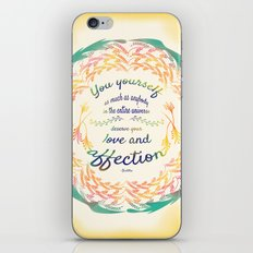 Buddha Quote iPhone & iPod Skin
