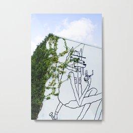 373. Street Art Wall, Vancouver, Canada Metal Print