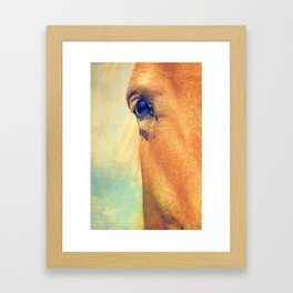 Horse Dreaming Framed Art Print