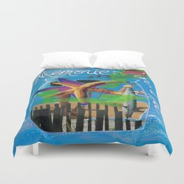 MEMORIES IN A JAR  by Seattle Artist Mary Klump Duvet Cover