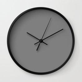 Solid Tombstone Grey Creepy Hollow Halloween Wall Clock