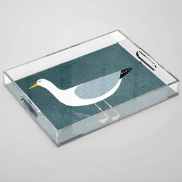 Seagull Standing Acrylic Tray