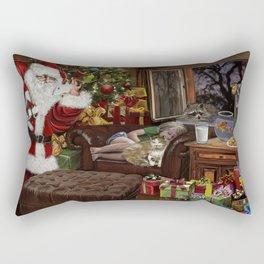 Snappy Santa Rectangular Pillow