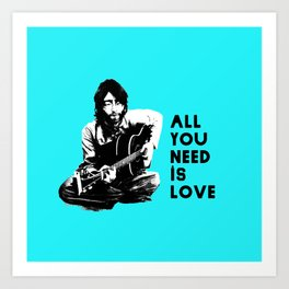 "Lennon ""All You Need Is Love"" Art Print"