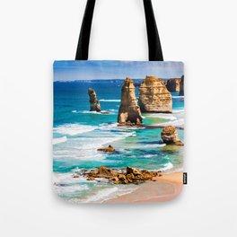 Sea tall Rocks Tote Bag
