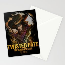League of Legends TWISTED FATE - [The Card Master] Stationery Cards