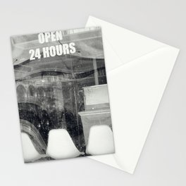 Open 24 Hours Stationery Cards