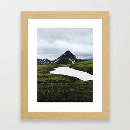 Green Mountain Framed Art Print