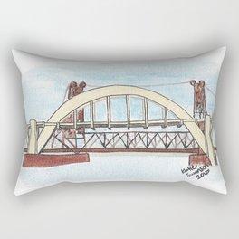 Robert Street Lift Bridge: St. Paul Rectangular Pillow