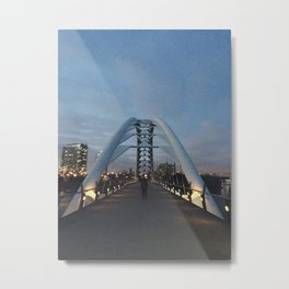 Night Walk, Toronto Metal Print