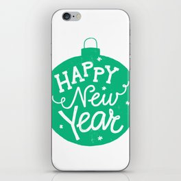 Happy New Year iPhone Skin