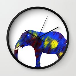 My bad luck elephant Wall Clock