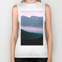Whispers in the mountains Biker Tank