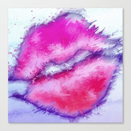 Feel My Love Canvas Print