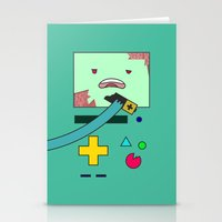 bmo Stationery Cards featuring Zom-BMO by Zeke Tucker
