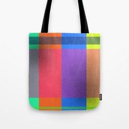 Rectangles in Square Tote Bag