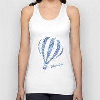 hot air balloon Tank Tops featuring Hot Air Balloon by Carma Zoe