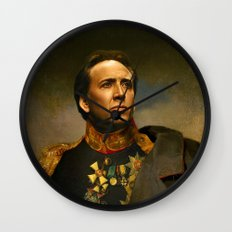 Nicolas Cage - replaceface Wall Clock