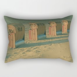 The lonesome four Rectangular Pillow