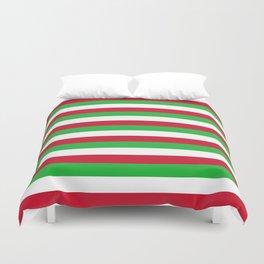 Burundi flag stripes Duvet Cover
