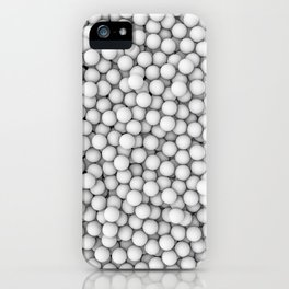 Golf balls iPhone Case