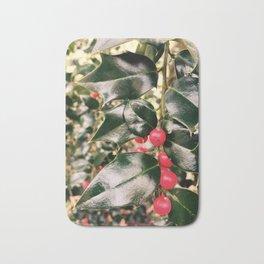 Christmas Mistletoe Bath Mat