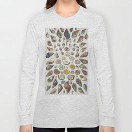 Vintage shell pattern Long Sleeve T-shirt