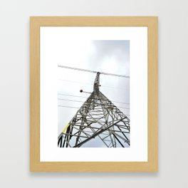 Lines #1 Framed Art Print