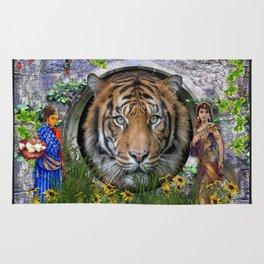 A wildlife, Bengal-tiger Rug